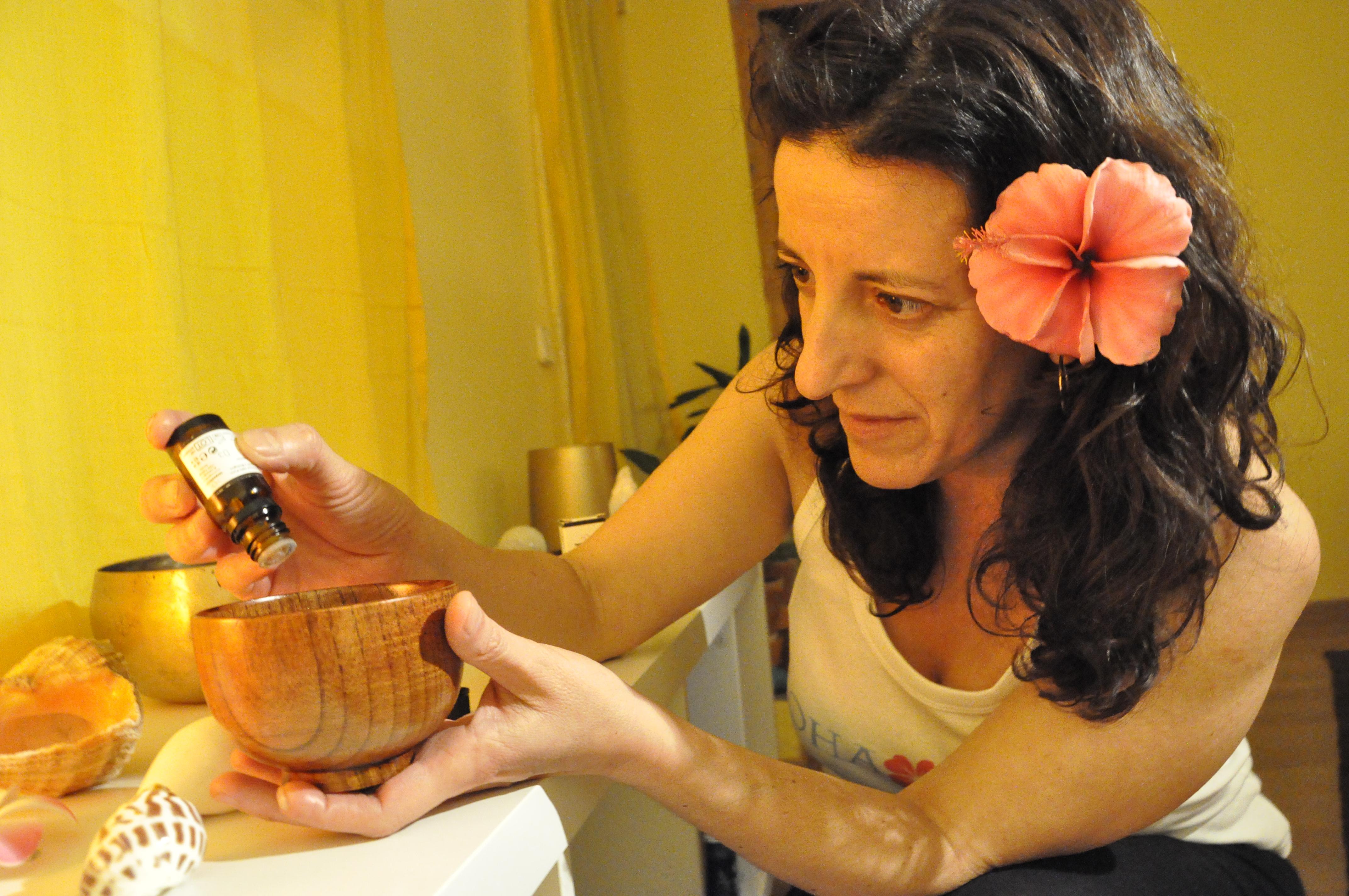 El lomi y la aromaterapia